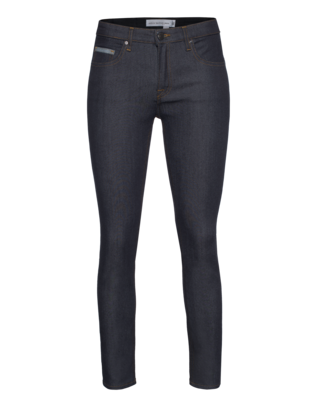 VICTORIA BECKHAM DENIM Ankle Slim Raw Dark Blue