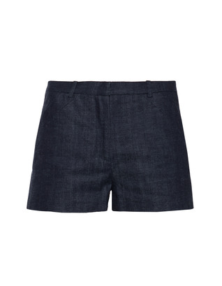 VICTORIA BECKHAM DENIM Sport Clean Japan Crosshatch
