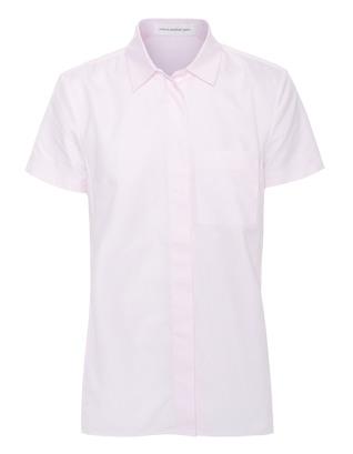 VICTORIA BECKHAM DENIM Cap Pocket Cotton Pale Pink