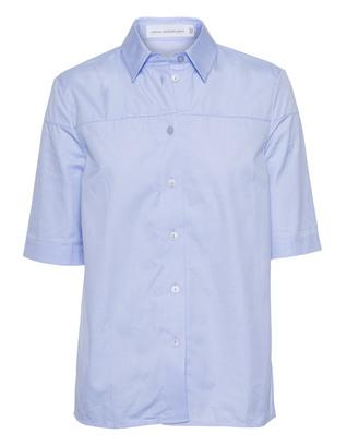 VICTORIA BECKHAM DENIM Square Sleeve Blue