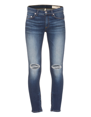 RAG&BONE Pacifico Zipper Capri Blue