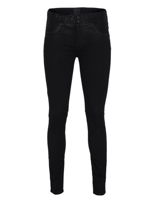 RtA Denim High Waisted Cool Black