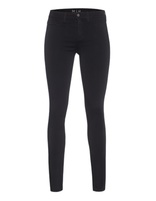 MiH JEANS The Bonn Jean High Rise Super Black