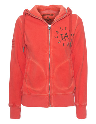 TRUE RELIGION Hooded Zip California Sunset