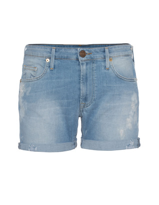TRUE RELIGION Lauren Boyfit Short New SMR