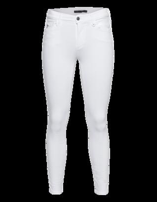 JOAN SMALLS X TRUE RELIGION Mid Rise Legging White