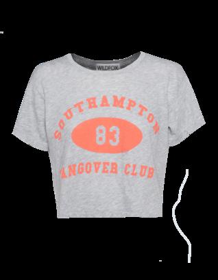 WILDFOX Hangover Club `83 Heather Grey