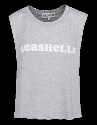 WILDFOX She Sells Seashells Heather Grey