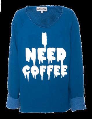 WILDFOX I Need Coffee Morning Howl