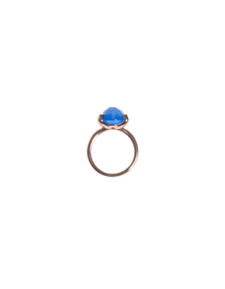 BRONZALLURE Filigree Achat Blue