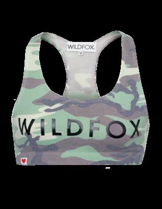 WILDFOX Classic Fox Spice Girl Camo Green