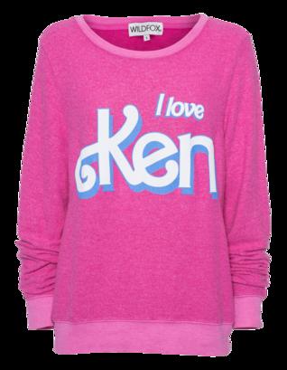WILDFOX I Love Ken Pink Corvette