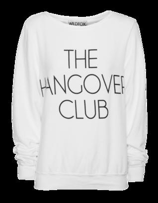 WILDFOX The Hangover Club Clean White