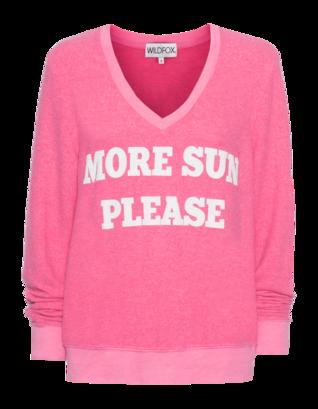 WILDFOX More Sun Please Solar Acid Pink