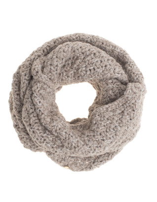 WOOLRICH Pure Wool Chunky Beige