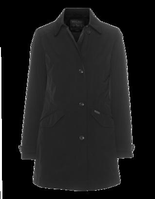 WOOLRICH Travel Coat Black