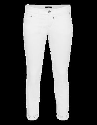 G DESIGN Cotton Stretch Studs White