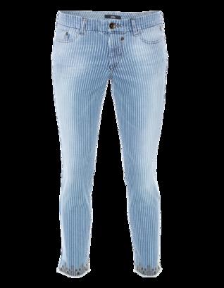 G DESIGN Stripes And Studs Blue White