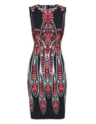 ROBERTO CAVALLI Luxe Feather Red