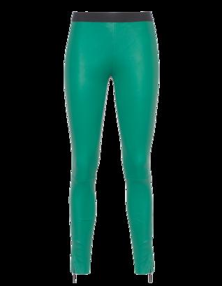 PAVLINA JAUSS Slim Seam Zip Green