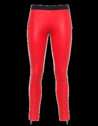 PAVLINA JAUSS Slim Seam Zip Red