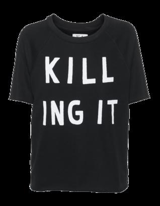 ZOE KARSSEN Killing It Raglan Black