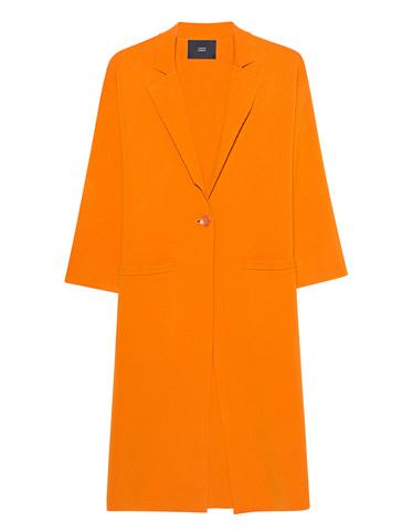 b90a786a4eaa Steffen Schraut Knit Coat in Orange