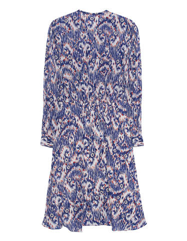 Isabel Marant étoile Yandra Dress Multicolor Patterned Silk