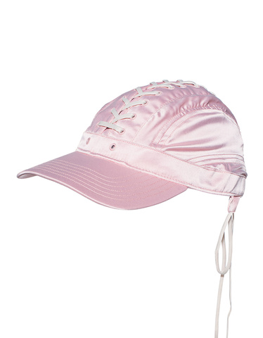 Fenty x Puma by Rihanna Lace-Up Silver Pink Vanilla Ice Baseball-cap ... 4def4e731b6d