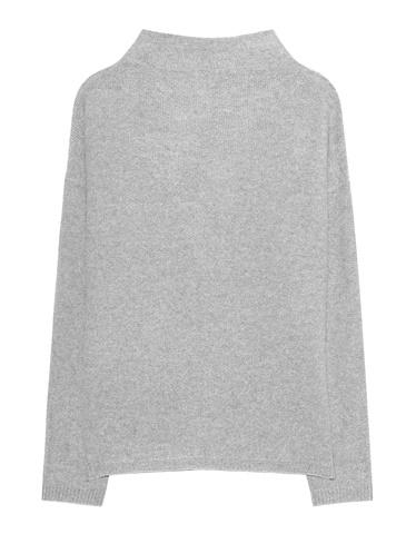 THE MERCER N.Y. Cashmere Knit Grey Kaschmirpullover mit