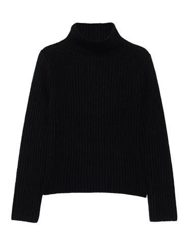 the-mercer-d-pullover-rippe-stehkragen_black