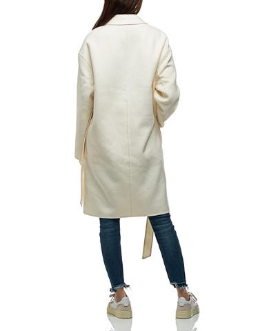 Oversize Woll-Mix Mantel mit Bindegürtel