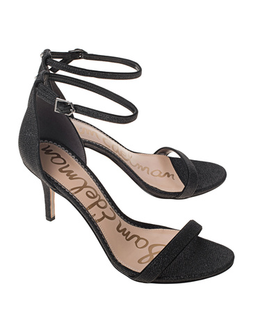 f4eda1f0d Sam Edelman black Sandals with glittereffects