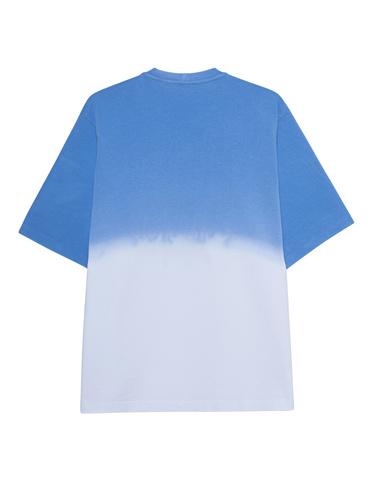 Oversize-T-Shirt im Batik-Design