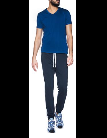 majestic-h-tshirt-vneck-100delco_1_blue