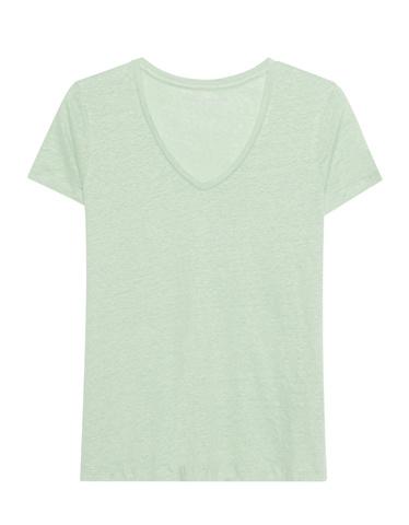majestic-d-t-shirt-v-neck-leinen-_2mint