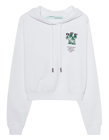 da059777c6 OFF-WHITE C O VIRGIL ABLOH Crop Carryover White Cropped printed ...