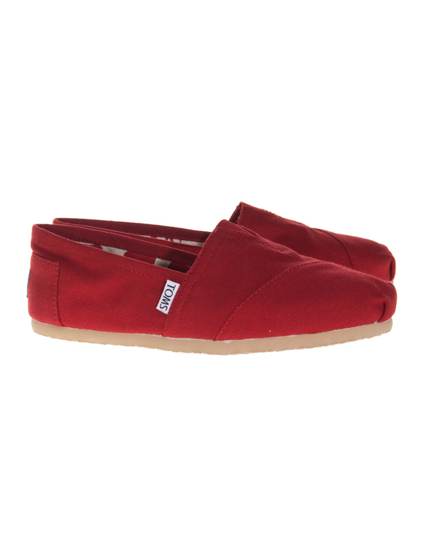 TOMS Classic Canvas Red