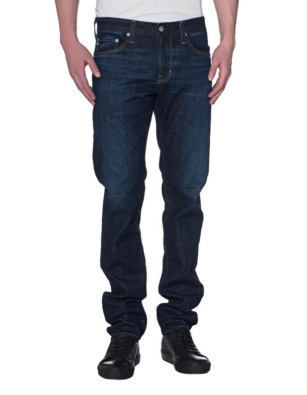"""Artikel klicken und genauer betrachten! - Cleane Slim Fit Jeans  Die cleane AG """"Tellis""""-Jeans in dunkler Indigo-Waschung kommt in schmalem dennoch relaxtem Schnitt, mit typischem 5-Pocket Design und wird mit jedem Tragen und Waschen immer gemütlicher.  Ein Key-Piece für Ihren Kleiderschrank!   im Online Shop kaufen"""