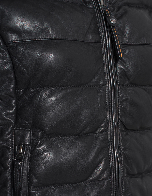 parajumpers jodie leather jacket