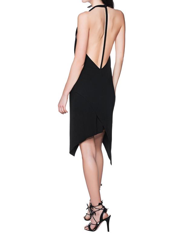 IRO Ekioti Black Neckholder dress - Dressesat jades24