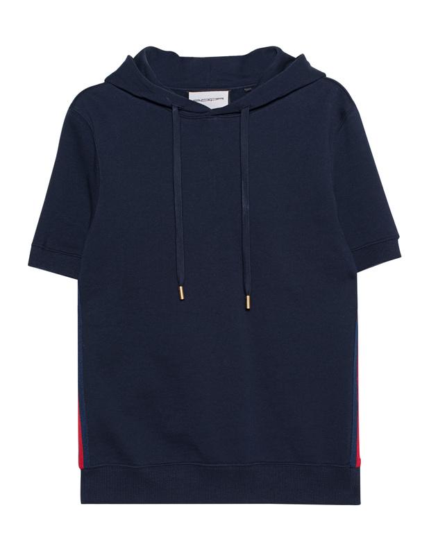 Short Sleeve Navy Roqa Steckdose Niedrigsten Preis w4UxdvY