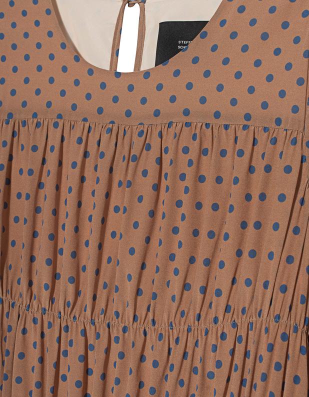 STEFFEN SCHRAUT Dots Belgrava Multicolor Gepunktetes Kleid ...