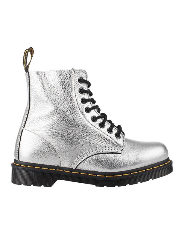 Pascal Met Santos 8 Eye Boots Women silverDr. Martens sMh7Q