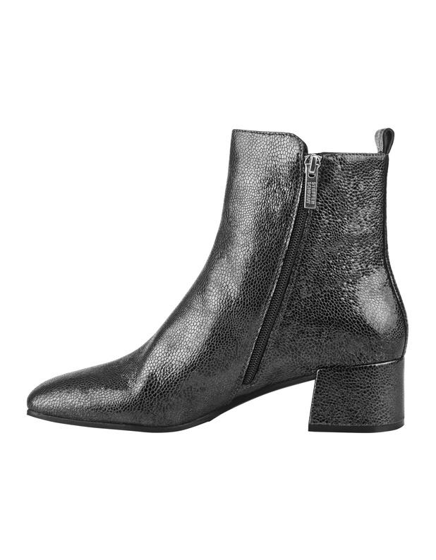 steffen schraut elisabeth ave silver metallische ankle. Black Bedroom Furniture Sets. Home Design Ideas