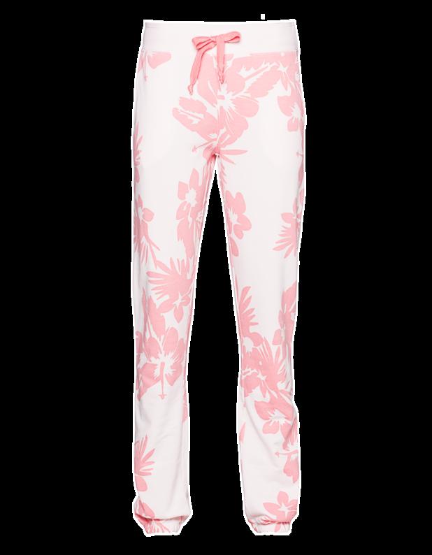 Floral Devoré Sweat Blushed Pink
