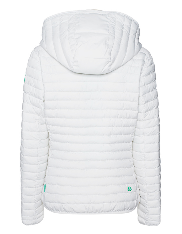 Günstig Kaufen Recycle Quilted Off White Save The Duck Verkauf Outlet-Store TiKNCwV