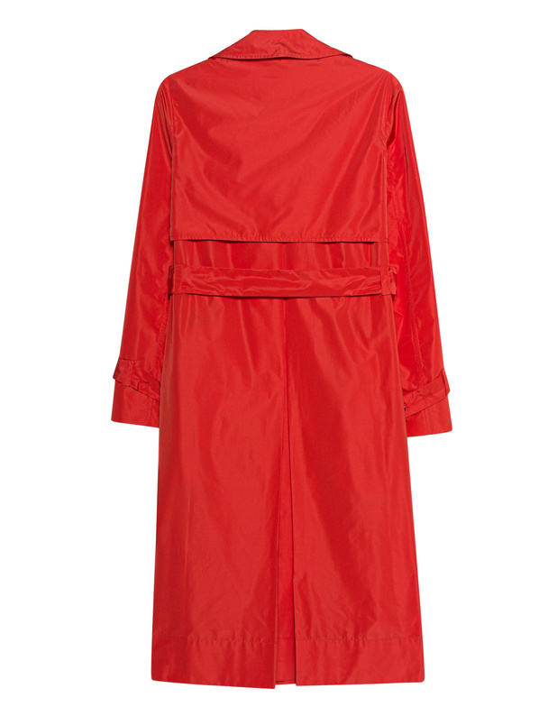 160ab7d386 KENZO Trench Bright Red Shiny trench coat - New Arrivals