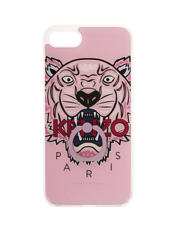1434f9514 KENZO iPhone 7 Tiger Ring Rose iPhone 7 Case with ring - New Arrivals