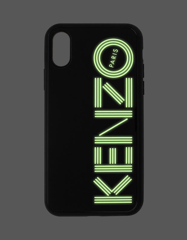92dfc2f7 KENZO Iphone X/Xs Glow Black iPhone X/Xs Glow-In-the-Dark Case ...